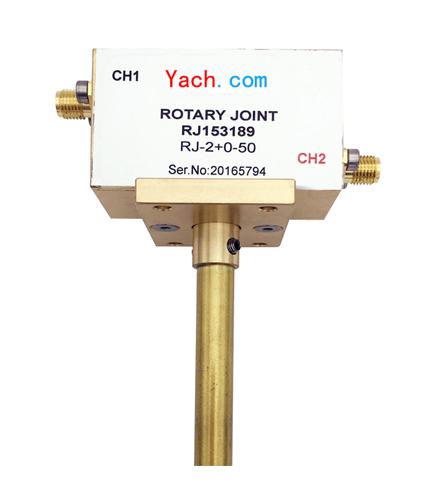 双路同轴旋转关节 RJ153189 [DC to 2.2 GHz] SMA
