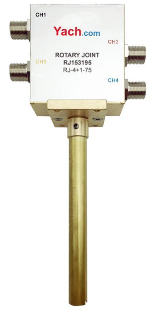 四路卫星接收旋转关节RJ153195 [DC to 2.2 GHz] F