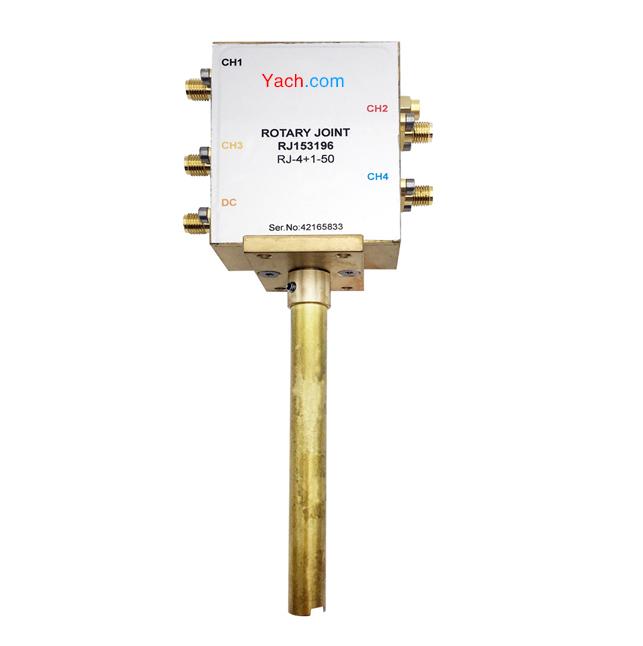卫星接收四路同轴旋转关节 RJ153196 [DC to 2.2 GHz] SMA