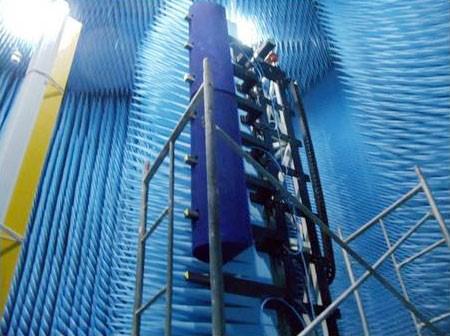 天线柱面丈量系统