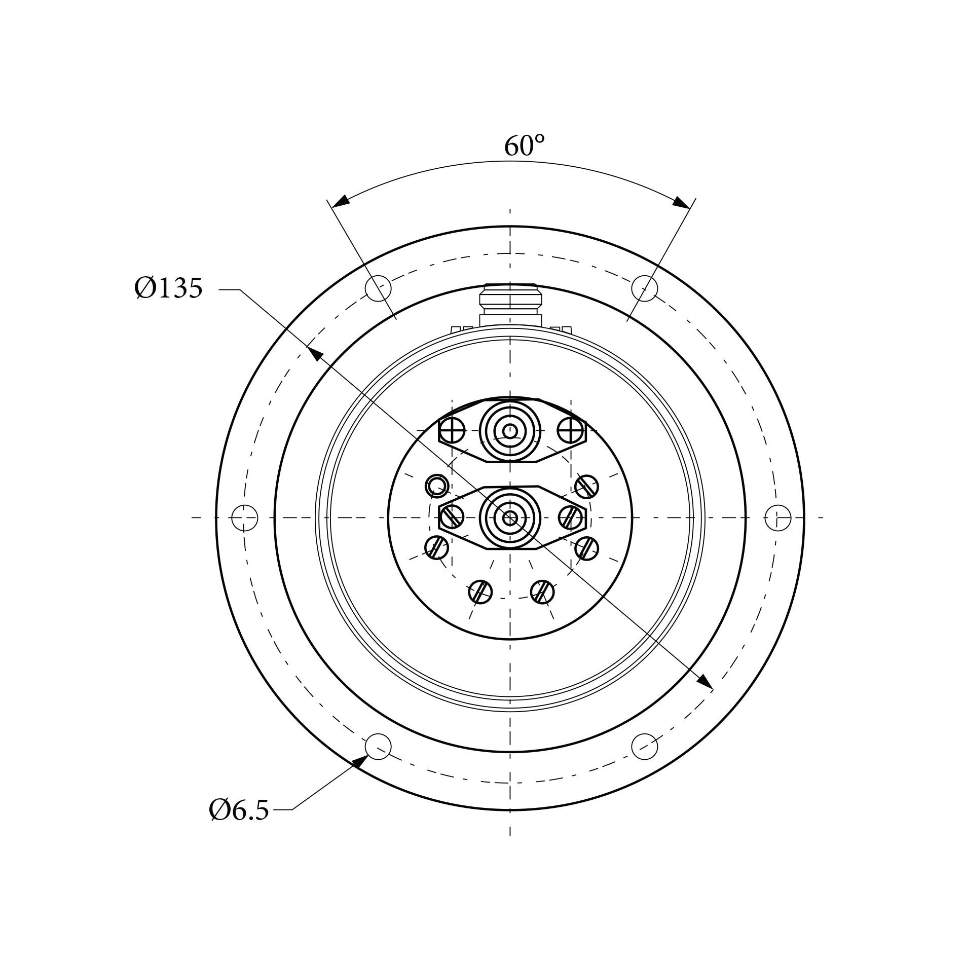 三路旋转关节RJ153183 1CH  2CH 3CH均为1.0 GHz~1.1 GHz  N型接头