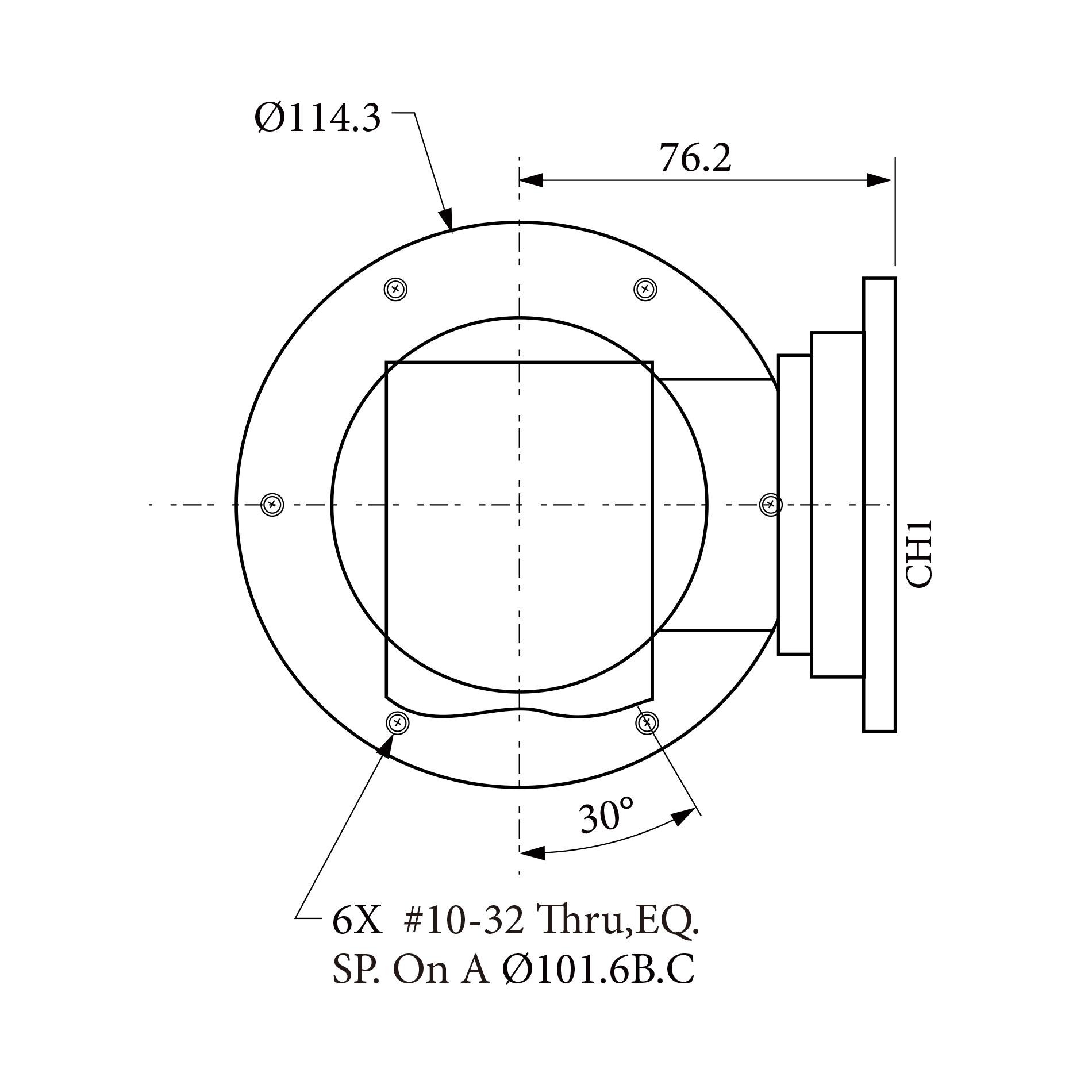 三路旋转关节RJ153186 1CH  2CH 3CH均为5.4 ~5.9 GHz  WR 187 Flange